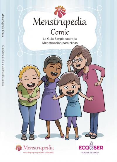 Portada Menstrupedia Comic